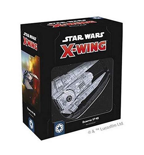Asmodee Italia Star Wars X-Wing Decimator VT-49 expansión Juego de Mesa con...
