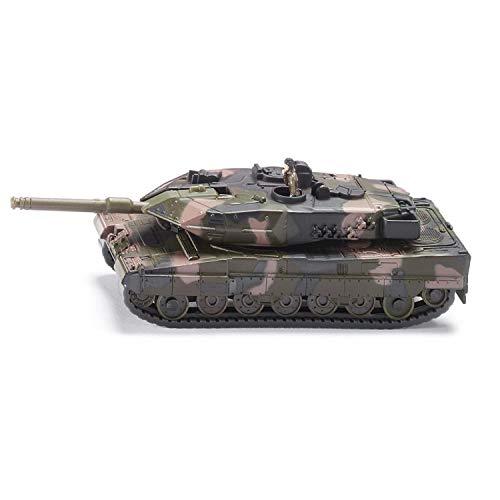 Siku 4364133 1867, Panzer, Metall/Kunststoff, 1:87, Kettenfahrzeug, Aufkleberbogen, tarnfarben