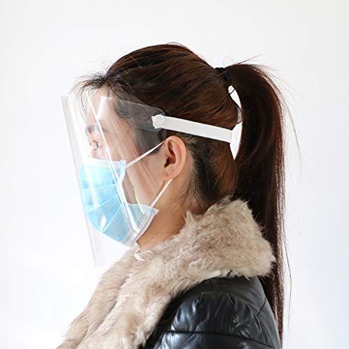 Fly Hong Infectie Protection maskers, het gezicht Bescherming van de ogen mond neus Clear Mask passend for Kind Volwassen (Size : 1)