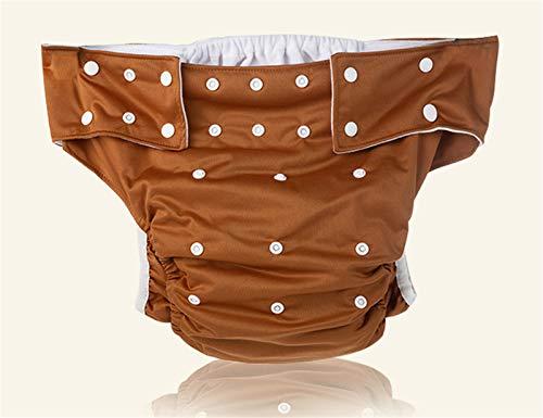 Pañales Para Adultos Pantalones De Pañales Lavables Para Hombres, Bolsillo De La Incontinencia Del Pañal, Ropa Interior De Las Mujeres Mayores,5,adjustable