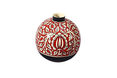Caffeine Ceramic Handmade Flower Vase(1 Pc)