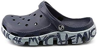LSWL Hot Hole Shoes Male Men Sandals New Crocse Clogs Hombre Sandles Mens Sandals Men Summer Shoes Slippers (Color : Pink, Shoe Size : 42)