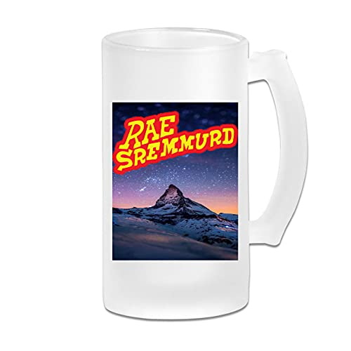 R_ae Sr_em_mu_rd Frosted Beer Cup, Tea Cup With Handle, Translucent Glass Coffee Cup, Convenient And Stylish Boiling Water Cup