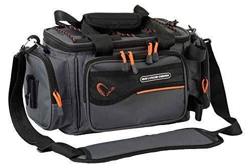 Savage Gear Soft Lure Specialist Bag S Angeltasche 21x38x22cm, Ködertasche, Anglertasche, Tasche zum Spinnfischen