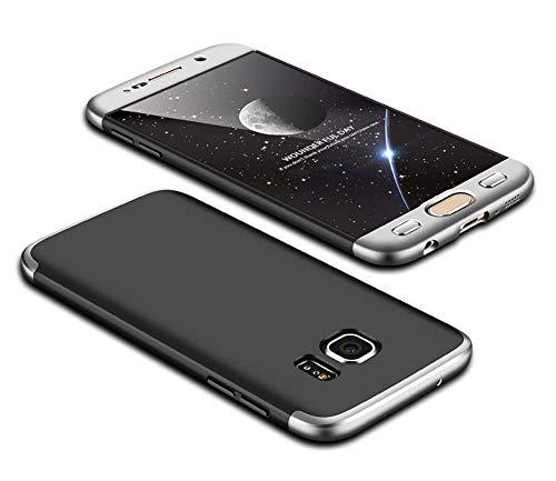 cmdkd Funda Compatible con Samsung Galaxy S7,Bumper 3 en 1 Estructura 360...