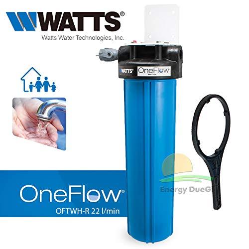 Sistema di prevenzione calcare OneFlow senza sali per impianti sanitari (22 litri/min - OFTWH-R)