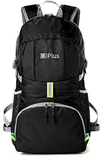 [iPlus]リュックサック メンズ YKK 軽量 防水 大容量 防災 旅行 登山 折りたたみ コンパクト