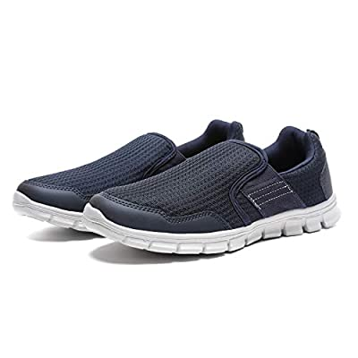 JIUMUJIPU Men's Slip-On Walking Shoes, with...