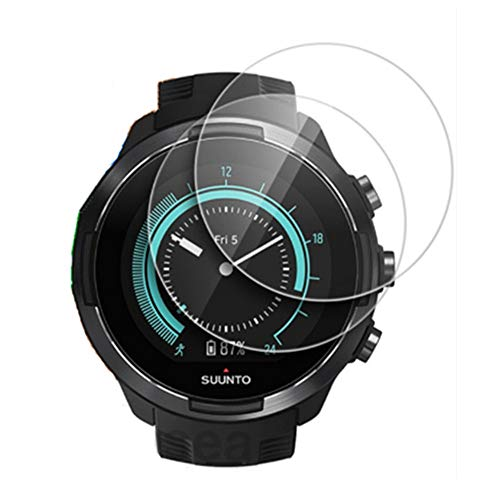 Screen Protector for Smartwatch SUUNTO 9, Ultra Thin Anti-Scratch Screen Tempered Glass for Watch SUUNTO 9 /Suunto 9 Baro - [2 Pack]