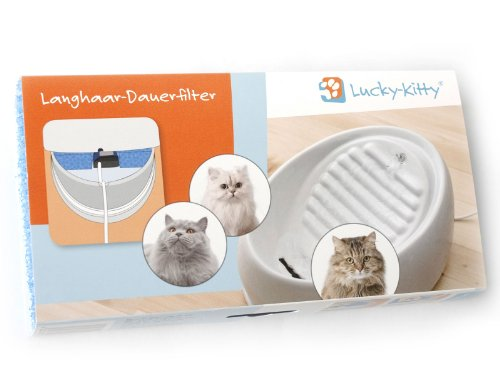 Lucky-Kitty Langhaar-Dauerfilter, Made in Germany mit