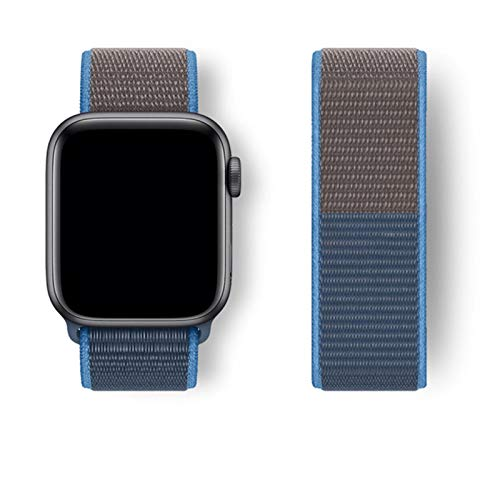 Correa para Apple Watch Band 38mm 40mm 42mm 44mm Smartwatch Correa de reloj Correa Sport Nylon Loop Belt Pulsera IWatch Series 4 5 SE 6