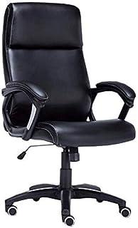 Silla de Oficina de Oficina Silla de Oficina Duradera y Estable Altura Estable Silla de computadora Peso de rodamiento 150kg Sillas de Escritorio Negro ZDWN