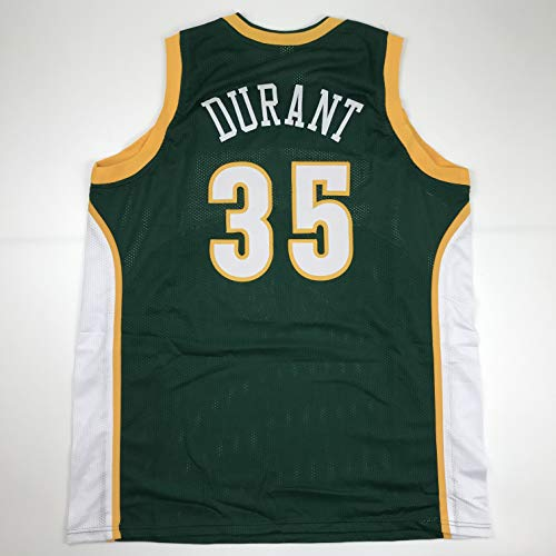 Unsigned Kevin Durant Seattle Green Custom Stitched Basketball Jersey Size Men's XL New No Brands/Logos