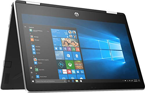 "HP Pavilion X360 2-IN-1 11.6"" HD Touch-Screen WLED-backlit Laptop, Intel Pentium N5000 up to 2.7GHz, 4GB DDR4, 128GB SSD, Bluetooth, Wireless-AC, HDMI, Webcam, USB 3.1-C, Media Card Reader, Windows 10"
