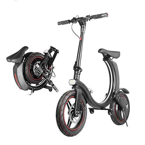 Bici Bicicletta Elettrica Pieghevole Adulto Da Uomo Donna...