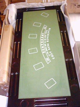 Kunibert Pokerspieltischbar – Poker/Roulette/Würfel/Blackjack/Theke - 4