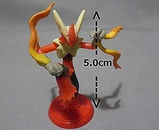 Furuta Choco Egg Mini Figure XY.Z~Mega Bursyamo Blaziken Rare Chase Secret ~Size 5 cm