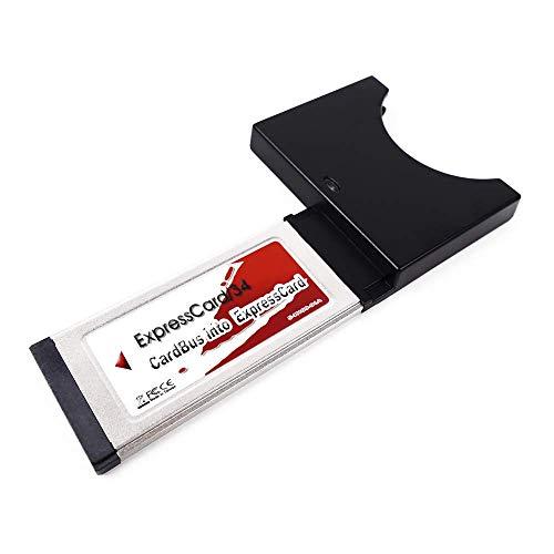 Cablematic - Adaptador de tarjeta ExpressCard a CardBUS