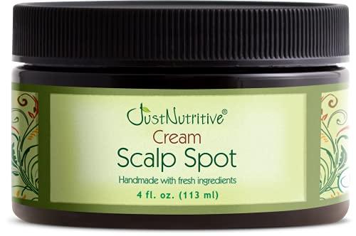 Bald Spot Treatment   Scalp Spot Cream   Hair Loss Treatment For Receding Hair   Hair Growth Cream For Men and Women   Just Nutritive   4 Oz
