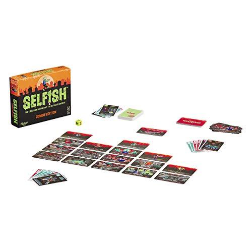 Ridley's Games GME028 Selfish: Zombie Edition - Tarjeta de Estrategia de Juego, Multi