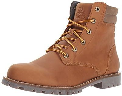 Kodiak Men's Magog Hiking Boot, Caramel, 10.5 M US
