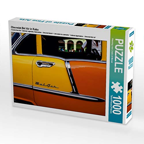 Chevrolet Bel Air in Kuba 1000 Teile Puzzle quer
