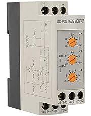 Victool Sobretensión Protector de mínima tensión, DVRD de la sobretensión y de bajo Voltaje Protección de relé (DC 24V)