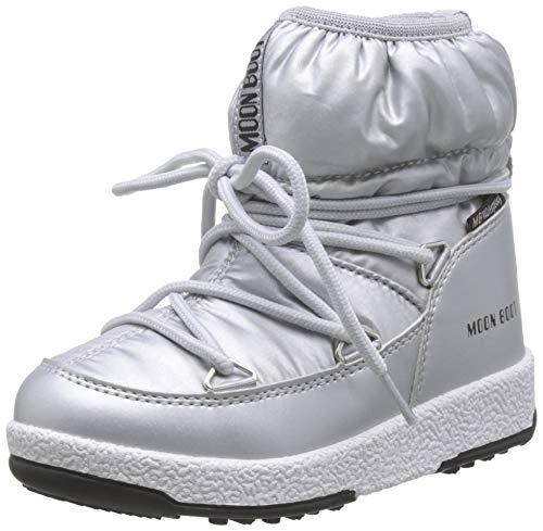 Moon-boot Jr Girl Low Nylon WP, Botas de Nieve Unisex niños