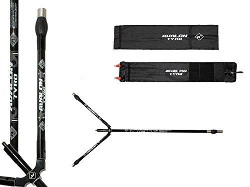 Avalon Tyro A3 Stabilisator Set 28'' Zoll schwarz/grau