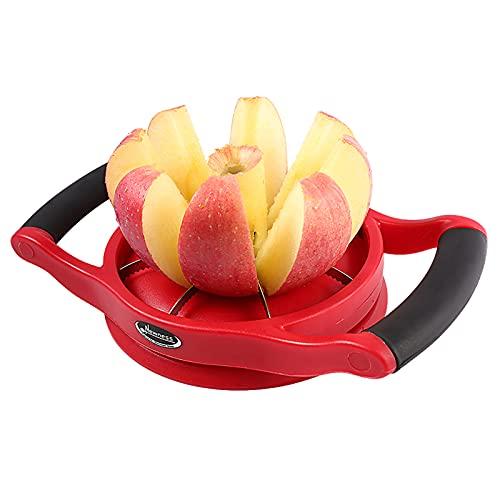 Apple Slicer Corer, [Large Size], Newness Premium Apple Slicer Corer,...