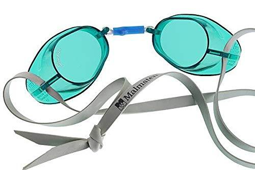 Malmsten Swedish Goggles Standard, Occhialini da nuoto, Unisex, Verde