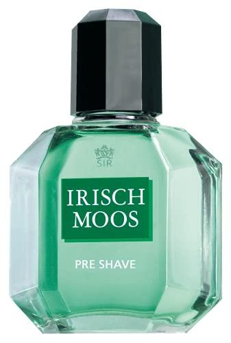 Sir Irish Moos® | Pre Shave mit dem natürlich frischen Duft von Sir Irish Moos - bereitet die Haut optimal auf die Rasur vor | 150ml