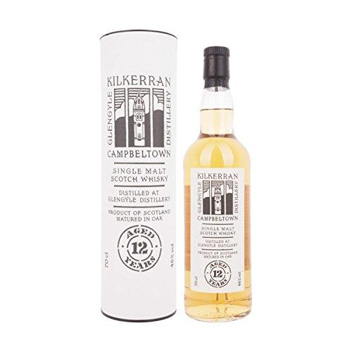 Kilkerran Glengyle 12 Years Old Single Malt Scotch Whisky + GB 46,00% 0.7 l.