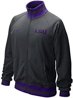 NIKE LSU Tigers Full-Zip Fast Track Jacket