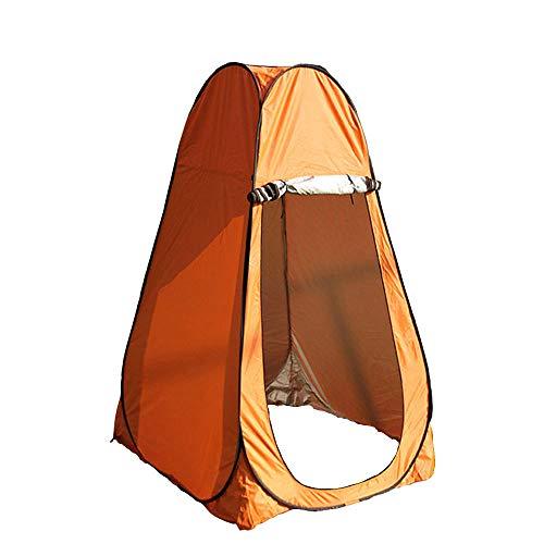 WJQ Beach Dressing Zelt Privacy Shelter Außendusche Wandern Markise Campingzubehör, langlebig wasserdicht und UV-beständig einfach zu lagern, mit Einer Tragetasche