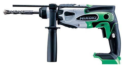 HiKOKI(ハイコーキ)旧日立工機18Vコードレスロータリーハンマードリル充電式グリーン蓄電池・充電器別売り本体のみDH18DSL(NN)(L)