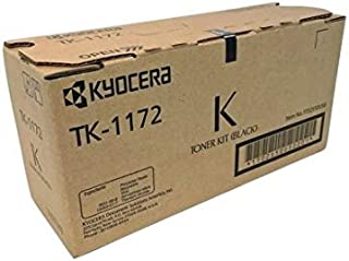 Kyocera 1T02S50US0 Model TK-1172 Black Toner Cartridge for Ecosys M2040dn/M2540dw/M2640idw, Genuine Kyocera, Up to 7200 Pages