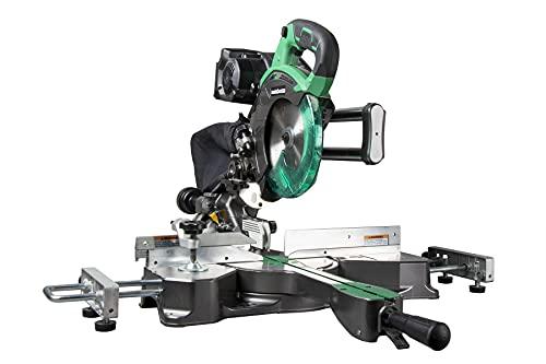 Metabo HPT 36V MultiVolt Sliding Miter Saw | 7-1/4-Inch Blade | Dual Bevel | Tool Body Only | C3607DRAQ4