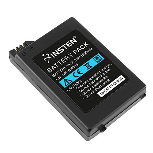Insten Rechargeable Battery compatible with SONY PSP 1000 1001 High capacity 1800mAh Battery Pack US (NOT Compatible with PSP-2000 or 3000 or PSP Slim)