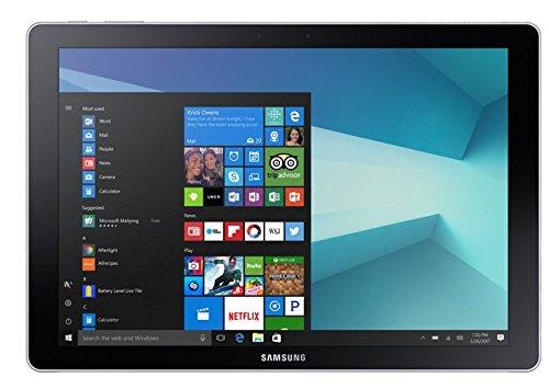 Samsung Galaxy Book SM-W728 Tablet, Intel Core i5-7200U, 256 GB, 4G, Nero