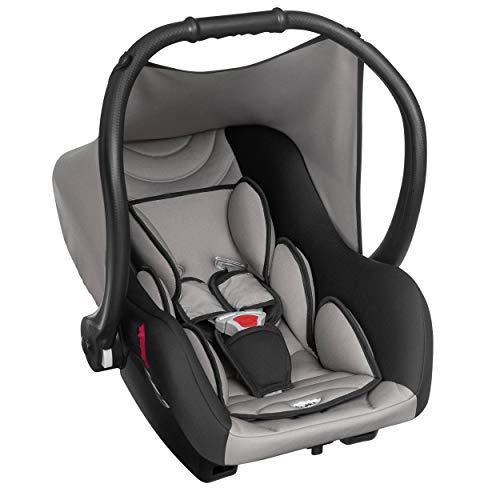 Bebê Conforto Ello Até 13 Kg, Tutti Baby, Preto e Cinza