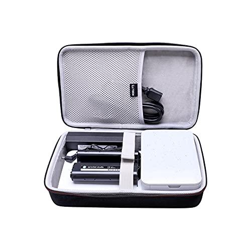 """L LTGEM EVA Hard Case for HP Sprocket Studio 4x6"""" Instant Photo Printer - Travel - Protective Carrying Storage Bag"""