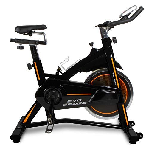 Tecnovita Bici Ciclismo Indoor - EVO S2000 - YS2000 - Volante inercia 22kg