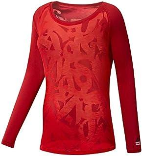 Reebok Women's Crossfit Burnout Long Sleeve Tee