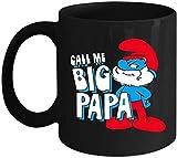 NA Mia Geschenk nennen Mich große Papa Tasse  Sch