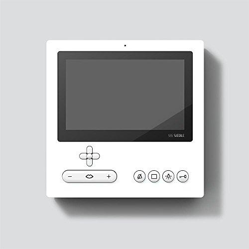 Siedle&Söhne Bus-Video-Panel Standard BVPS 850-0 W weiß Innenstation für Türkommunikation 4015739440603