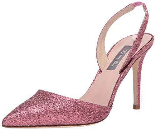 SJP by Sarah Jessica Parker Bliss 90 Damen Pumpe, Pink (pink, Glitter), 37 EU