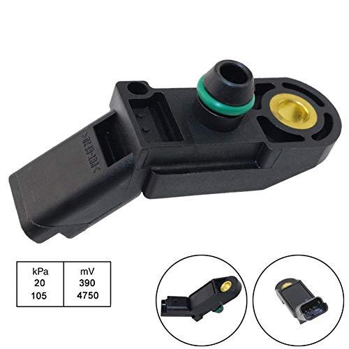 XIOSOIAHOU Sensor MAP Sensor gepasst for Citroen Xsara Picasso 1.6 2.0 fit for Peugeot 206 406 306 1,8 2,0 0261230057 0261230034 19201K 1920AN 9631813680