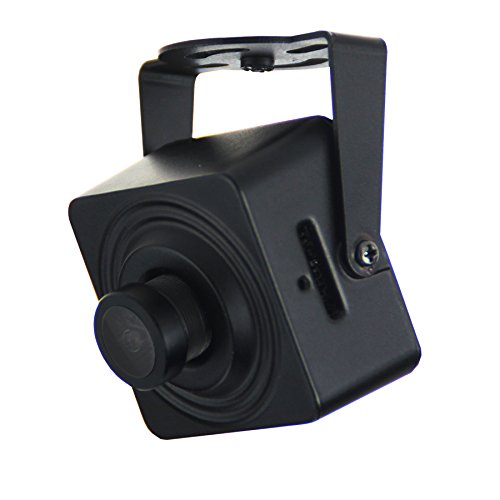 Cantonk KHJSL200W - Mini Kamera IP WLAN, Full HD 1080p (2.0 Megapixel), Weitwinkel 95°, microSD, H.265, H.264, ONVIF