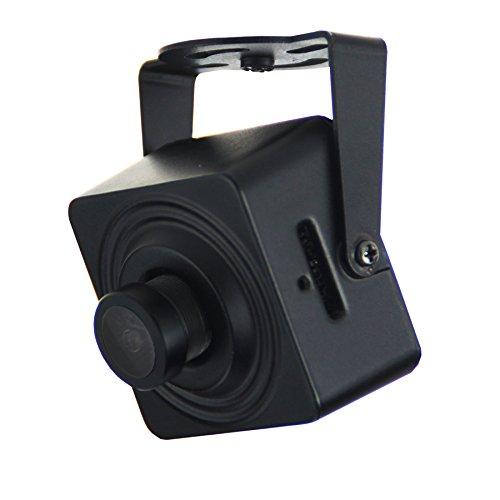 Cantonk KHJHL200W - Mini Telecamera IP Wi-Fi, Full HD 1080p (2.0 Megapixel), Grandangolare 95°, Slot microSD, H.265, H.264, ONVIF
